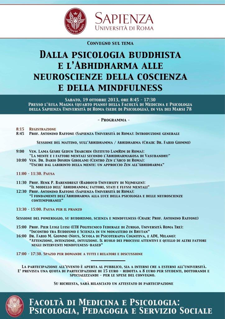 jpegConvegno psicologia buddhista, mindfulness e neuroscienze